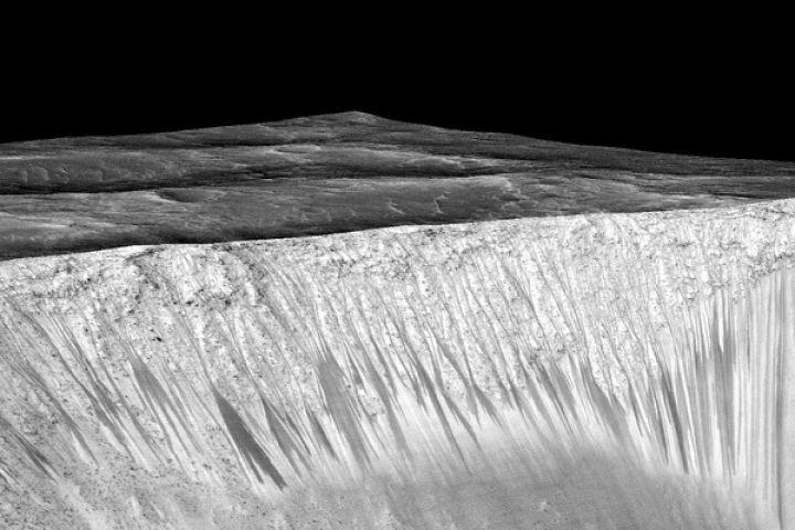 NASA का बड़ा खुलासा : मंगल ग्रह पर पानी होने के मिले सबूत