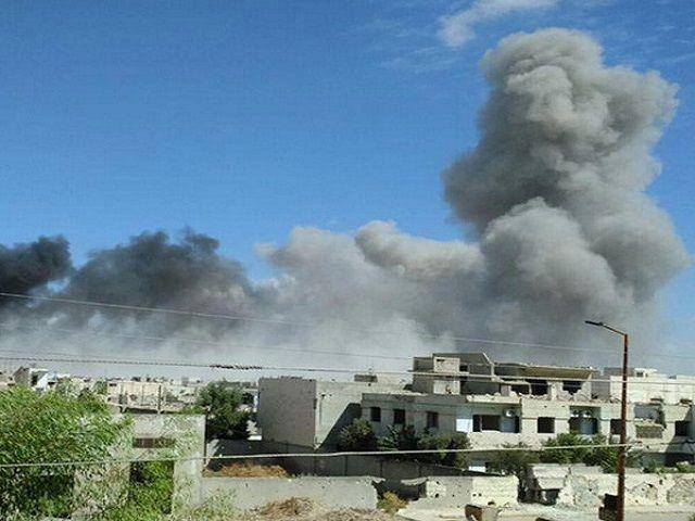रूस ने किया सीरिया पर हवाई हमला, इलाका खली करने को लेकर US को भेजा था संदेश