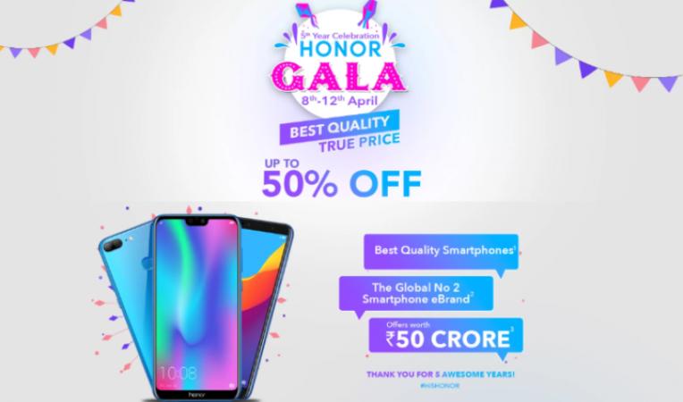 Honor Gala Festival सेल में लेटेस्ट स्मार्टफोन मिल रहे, आधी कीमत में