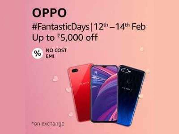 Oppo Fantastic Day सेल में मिल रहा 5,000 रु का अतिरिक्त डिस्काउंट, यह फ़ोन भी हैं शामिल