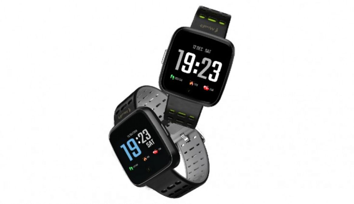 MevoFit Race Space Smartwatch launched in India