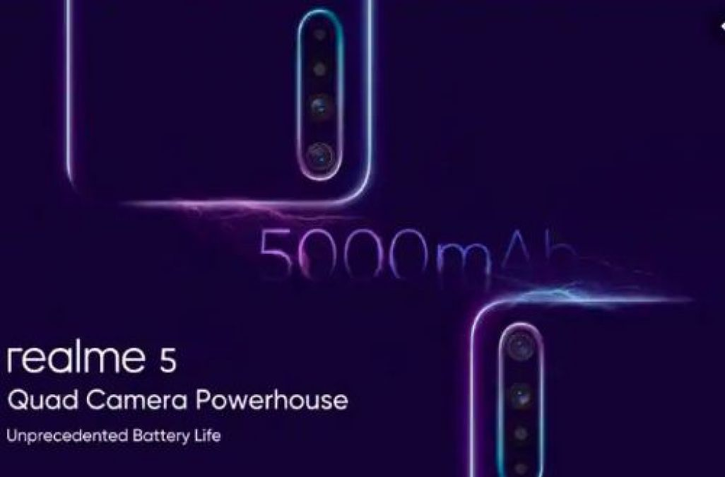 Realme 5 Series Phone India Launch Set for August 20