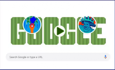 'Google makes a special doodle for this special match of FIFA Women's World Cup