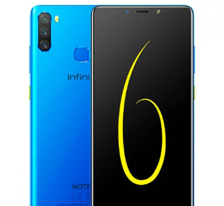 Infinix Note 6 Launched, Here are Other Features!