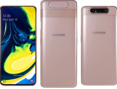 Samsung launches Galaxy A80 with rotating the triple camera and 8GB RAM