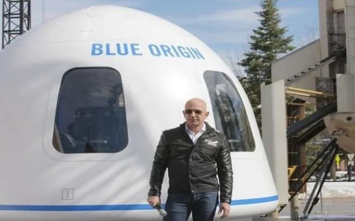 अंतरिक्ष के लिए जेफ बेजोस ने भरी उड़ान, यहां देखें लाइव स्ट्रीमिंग