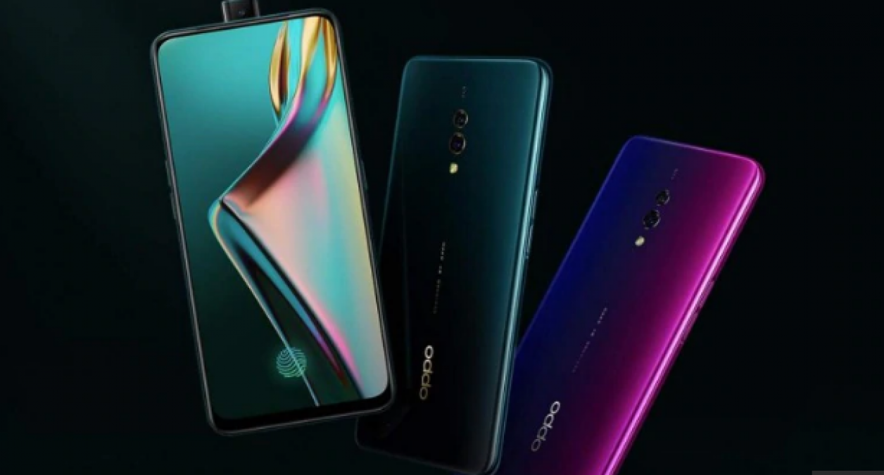 Oppo K3 launched in India with a pop-up selfie camera
