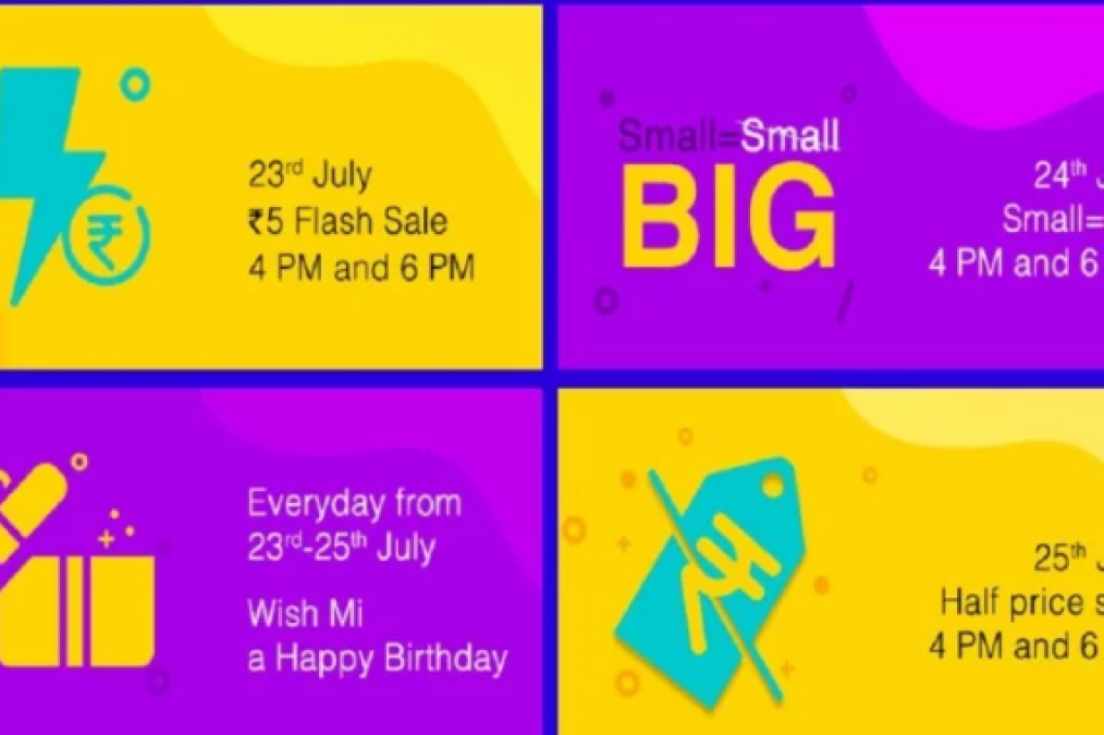 A great chance to grab a 32-inch MI TV for five rupees on completion of five years in India