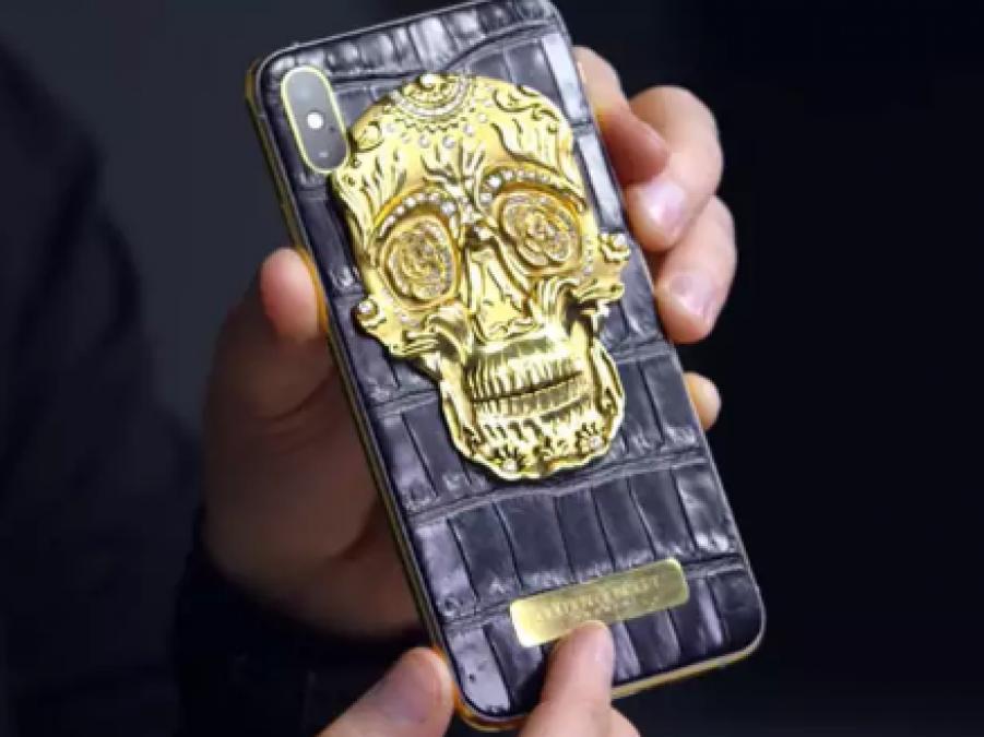 iPhone के सोने की खोपड़ी और हीरे जड़े स्मार्टफोन को खरीदने का मौका, जानिए कीमत