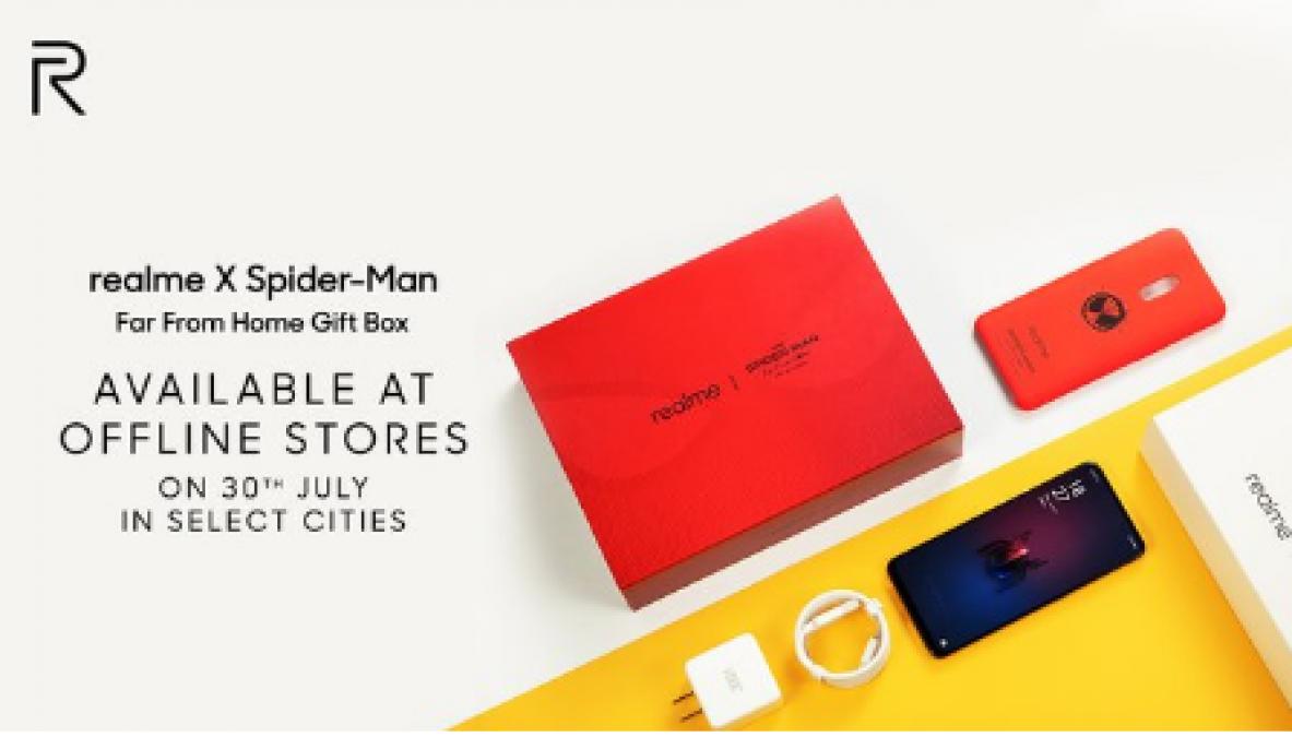 Realme X के स्पाइडर- मैन एडिशन को सीमित स्टोर से खरीदने का मौका, जानिए क्या है फ्री