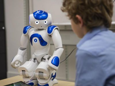 Robots conducting the interview process of the candidates, deets inside