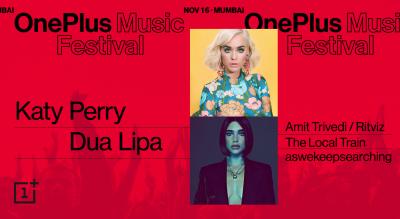 OnePlus Music Festival : कैटी पेरी, दुआ लिपा होंगी खास आकर्षण, प्रति व्यक्ति इतने पैसे होंगे खर्च
