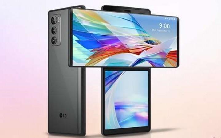 LG ने लॉन्च किया डबल स्क्रीन वाला स्मार्टफोन