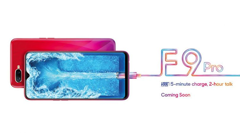 Oppo F9 Pro will  launch in India soon