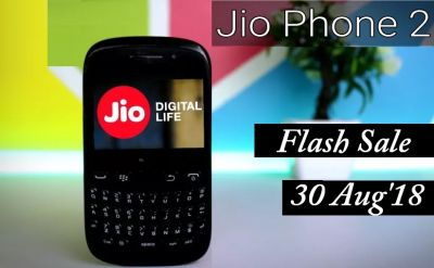 Get Jio Phone 2 at Flash Sale on August 30