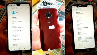 Photos of Moto G7 leaked, comes with a waterproof display and two rear cameras