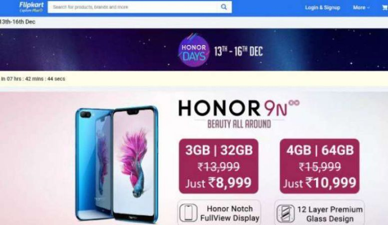 HONOR DAYS SALE: Grab these amazing smartphones with great discount