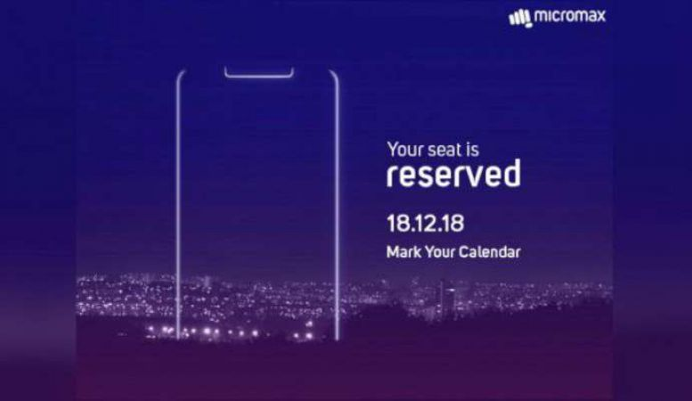 Micromax to launch this smartphone with notch display, read details