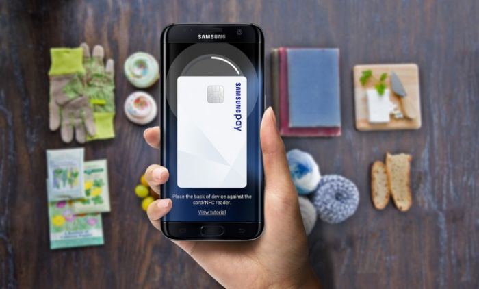 Samsun launched its new 'Pay Mini Service' in South Korea