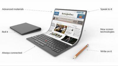 Lenovo showcased foldable display concept of laptop