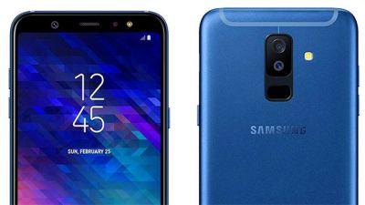 Samsung Galaxy A6 price falls down