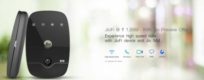 Reliance is giving JioFi for Rs 1,999 with free benefits worth Rs 3,595
