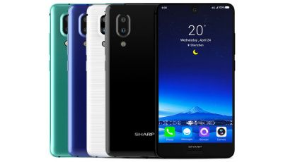 Know the features of SMART Aquos R2