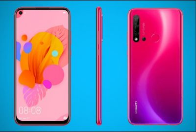 Official renders Huawei P20 Lite 2019 with a hole in the display