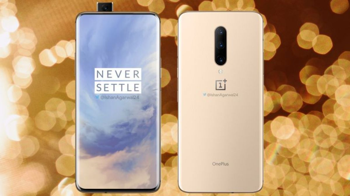 OnePlus 7 Pro - the new flagship with a large screen and a sliding camera