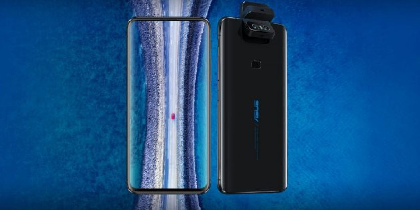 Asus introduced the frameless flagship ZenFone 6 with a folding camera