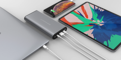 HyperJuice - the world's first power bank with support for 100 watts of power