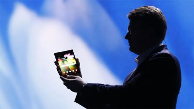 Samsung gives first glimpse of much-anticipated foldable phone