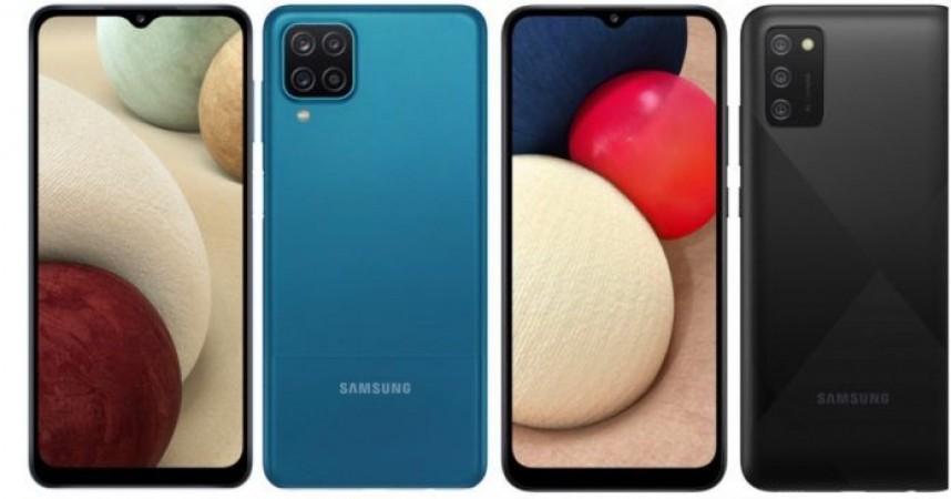 सैमसंग ने एचडी + डिस्प्ले के साथ की नए किफायती स्मार्टफोन्स गैलेक्सी A12, A02s की घोषणा