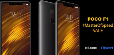 Xiaomi Poco F1's third flash sale today