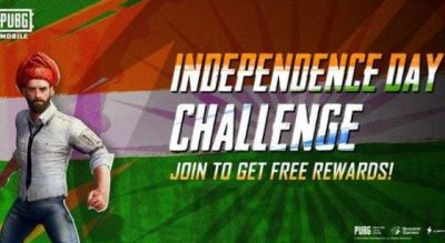 Pubg mobile gives special challange to users, will get several rewards points on Independence Day