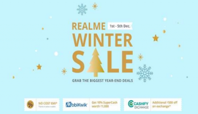 Realme Winter Sale: Huge discounts and offers on these hot-selling smartphone