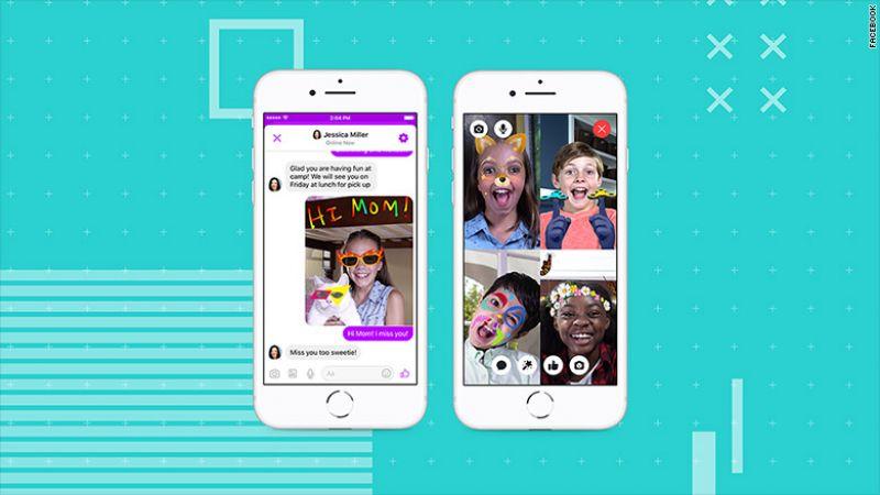 बच्चों के लिए फेसबुक ने लॉन्च किया चैट ऐप