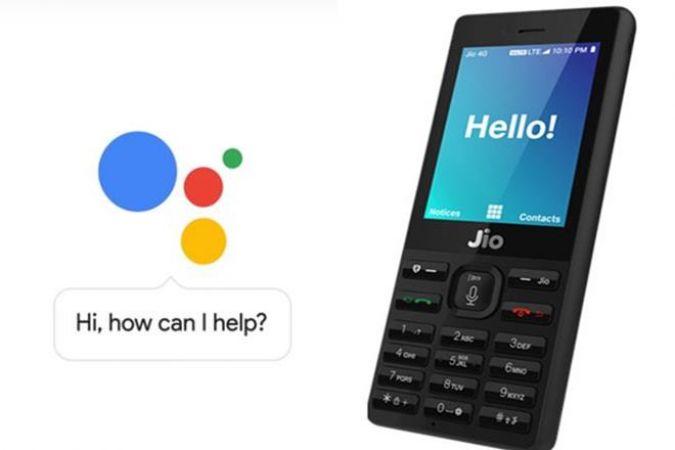 अब जियो फ़ोन में आया 'गूगल असिस्टेंट'