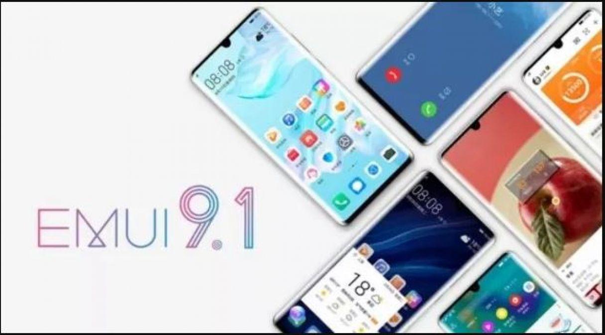 इन 8 Huawei स्मार्टफोन को मिलेगा EMUI 9.1 अपग्रेड