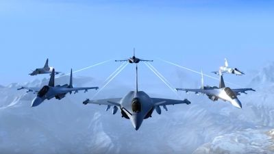 Indian Air Force Game: Two powerful fighter jets connected with multiplayer mode