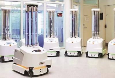 Robots will help treating coronavirus infected people