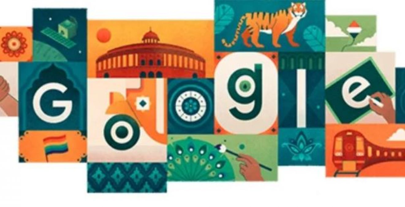 Google wishes India on 73rd Independence Day with a special Doodle