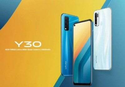 Vivo Y30 launched with this feature, know the price
