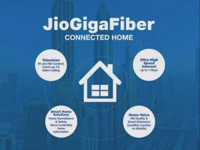 Jio GigaFibe Will Soon Be Commercially Available