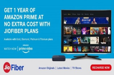 Jio Fiber customers will get Amazon Prime subscription free