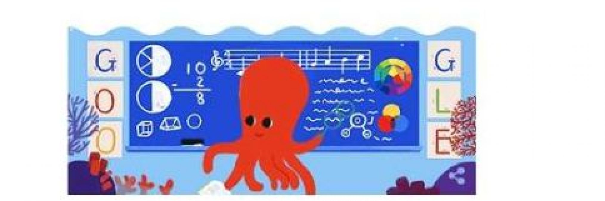 Google celebrates Teachers' Day with animated octopus doodle