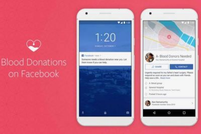 Facebook launches a new feature in India, blood donation will now become easier