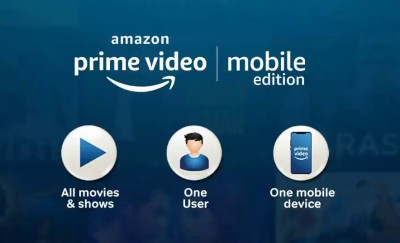 Amazon Prime Video Mobile Edition launched in India, read details
