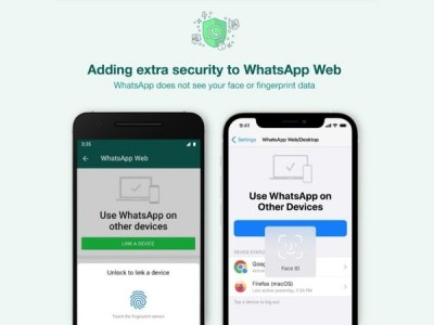 WhatsApp Web gets additional security layer to link account to PCs