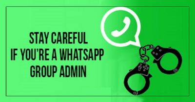 Whatsapp Group admin needs to register here within 10 days